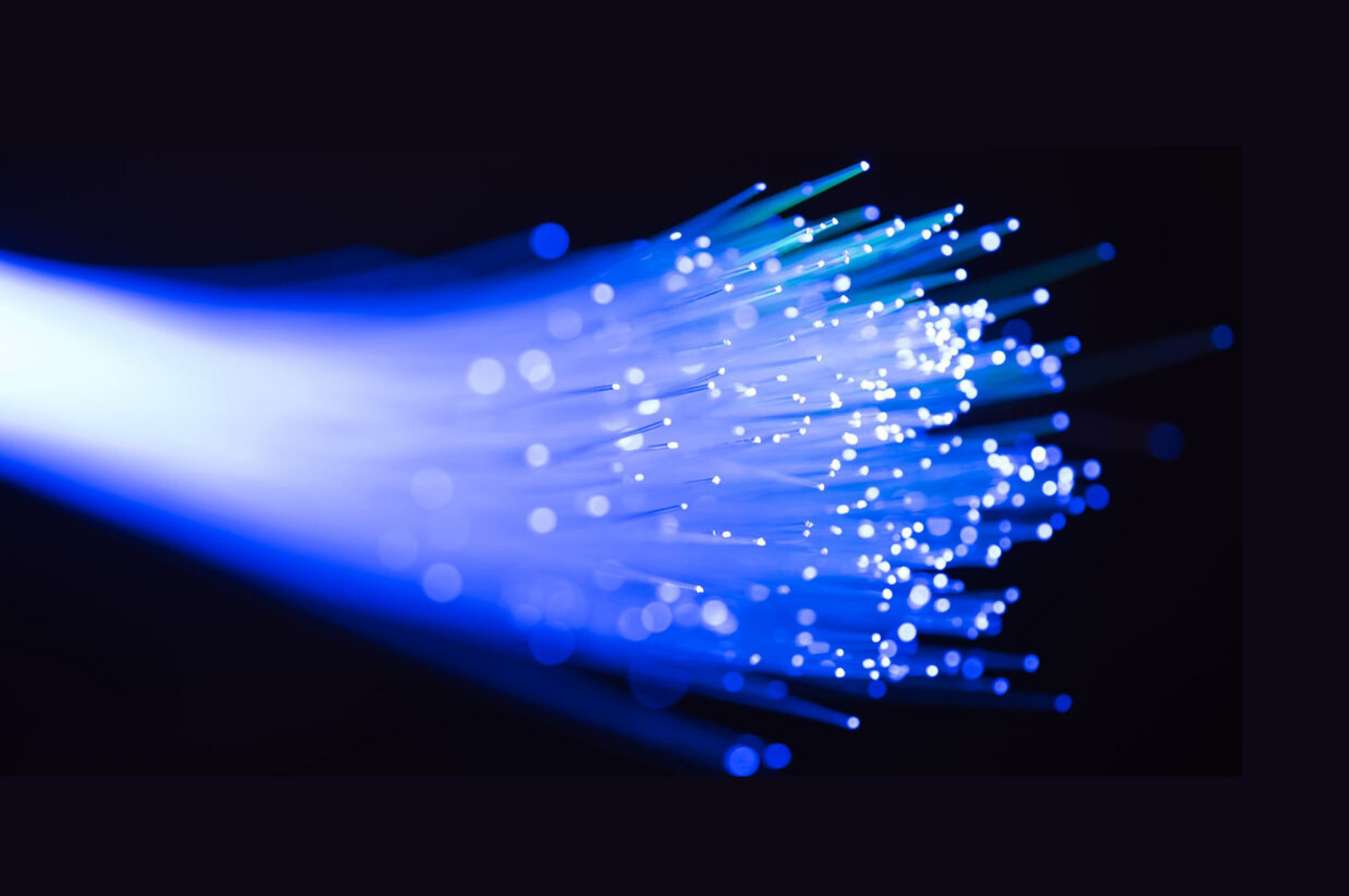 A Picture of Fiber Optic Cables