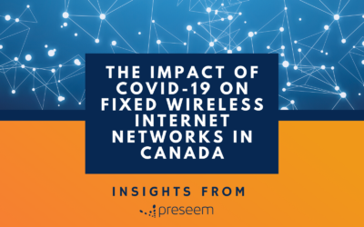 COVID-19: Impact on Internet Usage Across Fixed Wireless ISPs in Canada