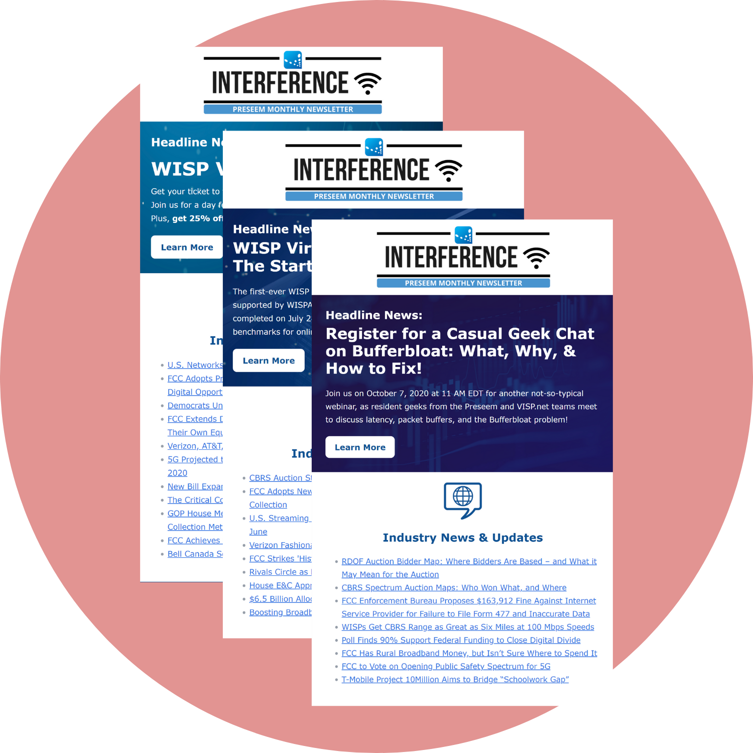 Stay Connected with The Interference Newsletter